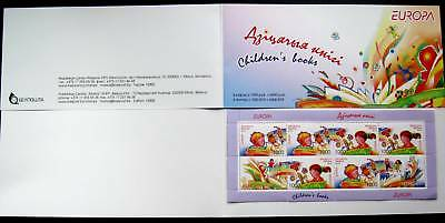 Belarus 2010 EUROPA CEPT Children Picture BKLT 8 stamps