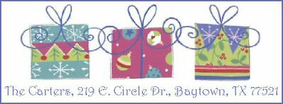 ~PRESENTS FOR CHRISTMAS~  Return Address Labels