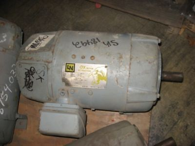 NEW - Westinghouse 7.5HP, 1750 RPM, 240V Electric Motor 8754-032