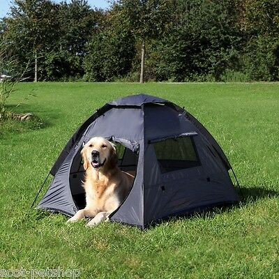 NEW Dog Tent Dogs Canvas Kennel Outdoor Pet Tents Bed