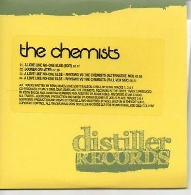 (AF847) The Chemists, A Love Like No-one Else - DJ CD