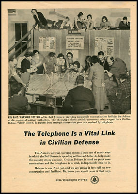 1951 vintage ad for Bell TElephone System