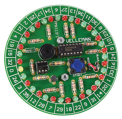 Velleman MK119  Electronic LED Roulette Game Kit