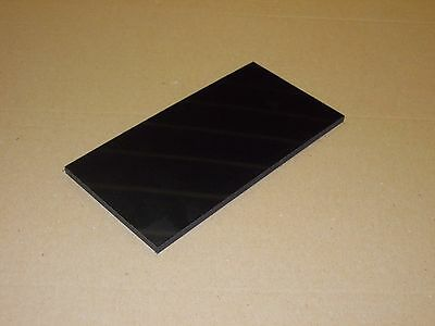 Hdpe Sheet 6Mm Thick 500Mm X 300Mm Black