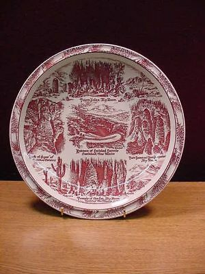 Carlsbad Caverns New Mexio Commerative Plate EC