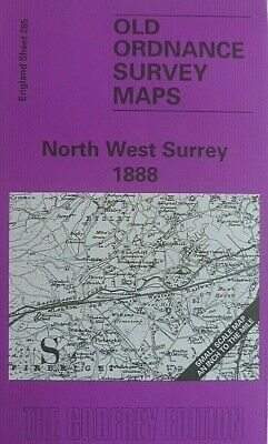 Old Ordnance Survey Maps  North West Surrey & Map Worplesdon 1888 S 285 New