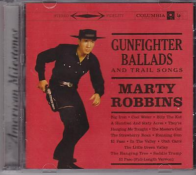 Marty Robbins - Gunfighter Ballads & Trail Songs - Cd