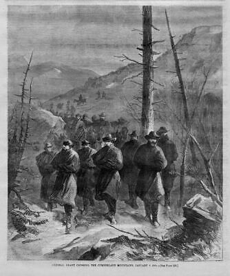 General Grant Crossing The Cumberland Mountains History