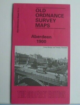 OLD ORDNANCE SURVEY DETAILED MAPS ABERDEEN SCOTLAND  1900 Special Offer