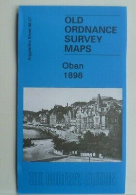 OLD ORDNANCE SURVEY DETAILED  MAPS OBAN  SCOTLAND 1898 Godfrey Edition New