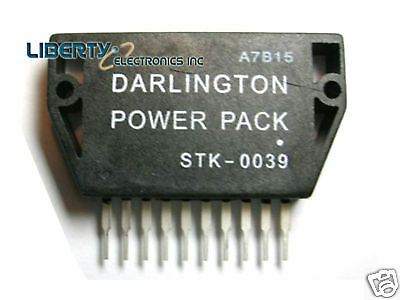 New Output Stage Of Af Power Amplifier Stk0039