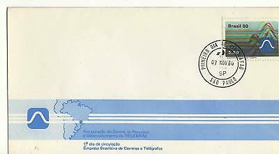 A 1980 Fdc From Brazil