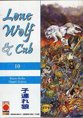 Lone Wolf & Cub N. 10 - Cover Di Frank Miller - Nuovo