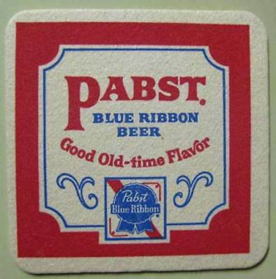 PABST BLUE RIBBON BEER OldTime Flavor Coaster Milwaukee