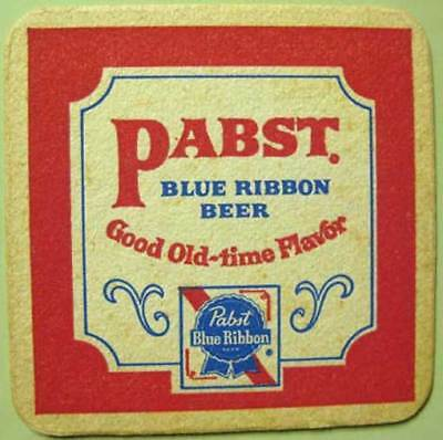 PABST BLUE RIBBON BEER Flavor Coaster Milwaukee only746