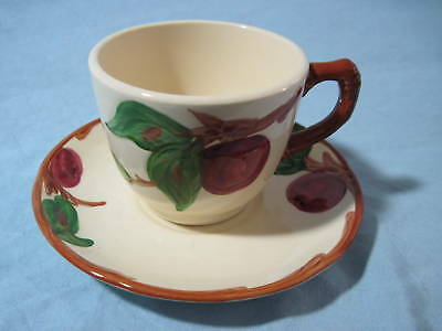 FRANCISCAN APPLE PATTERN CUP & SAUCER