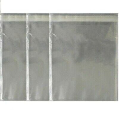 100 Quality A5 / C5 Cello Greeting Card Bags Self Seal