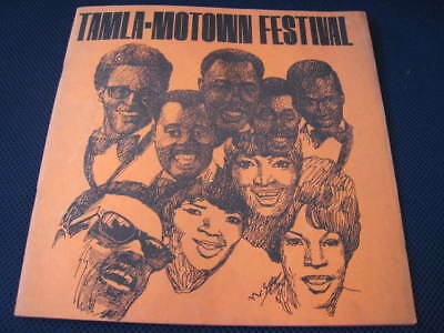 Tamla Motown Festival Japan Tour Book Stevie Wonder Temptations Martha Vandellas