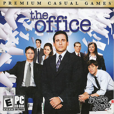 THE OFFICE Mumbo Jumbo Funny Comedy Game for Windows PC BRAND NEW Sealed CD