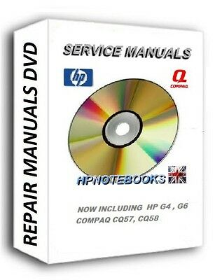 Hp Laptop Service Repair Manuals Dvd Dv3 Dv5 Dv6 Dv7