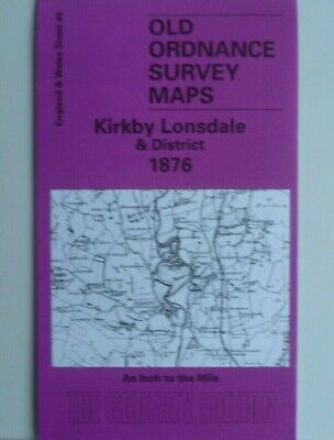 Old Ordnance Survey Map Kirkby Lonsdale & District & Plan  Beetham 1876 Shee 49
