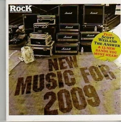 (AO274) New Music For 2009 - Classic Rock CD