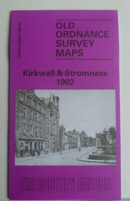 Old Ordnance Survey Map Orkney Kirkwall & Stromness  1902 S108.03 New Map