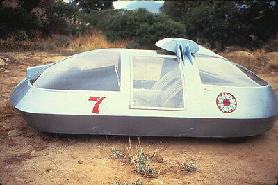 Logan's Run 1977 TV Sci-Fi 35mm Slide Futuristic Car