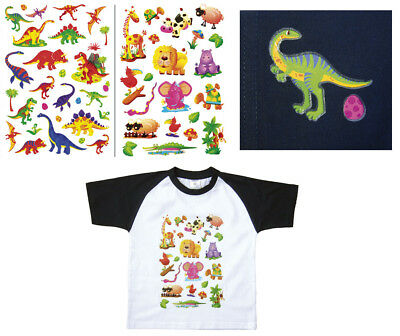 TEXTILTATTOOS Tiere T-Shirt Tattoos 50 Kindertattoos