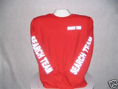 Search And Rescue T-Shirt, Reflective Search Team,   LG
