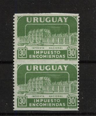 Uruguay Q91  Mint NH imperforate between