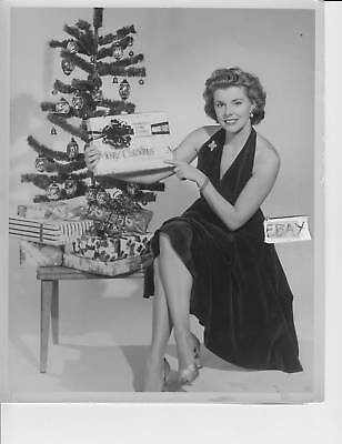 Jean Gillespie busty leggy VINTAGE Photo