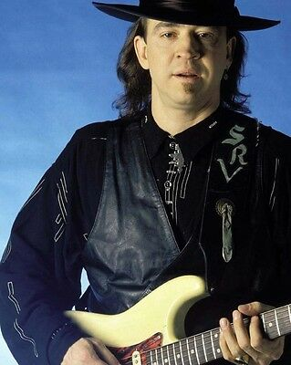 Stevie Ray Vaughan, 8x10 Color Photo