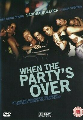 When The Party's Over - Sandra Bullock - DVD Brand New