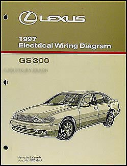 new 1993 lexus es 300 wiring diagram manual original es300 1997 lexus gs 300 wiring diagram manual original electrical schematic gs300 oem