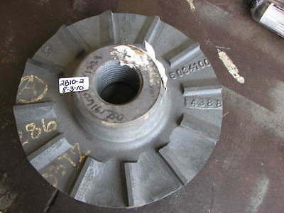 "New Goulds Pump Impeller W531-14275 14338 12"" Od Steel"