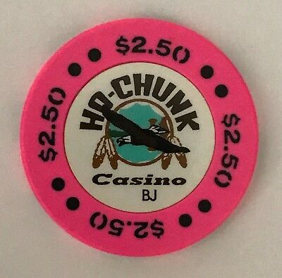 Ho Chunk $2.50 Casino Chip Wisconsin Old