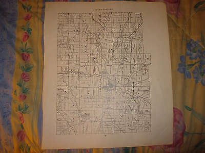 AUBURN TOWNSHIP MINERAL CITY TUSCARAWAS COUNTY OHIO MAP