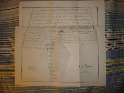 Pass A Loutre Louisiana Mississippi River Antique Map N