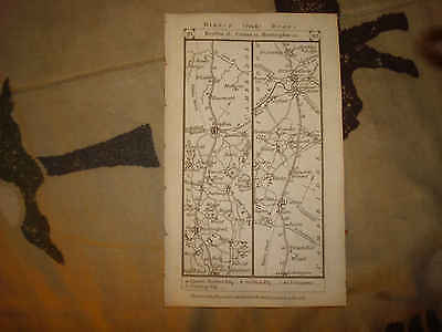 1785 Antique County Huntingon Hereford England Map Nr