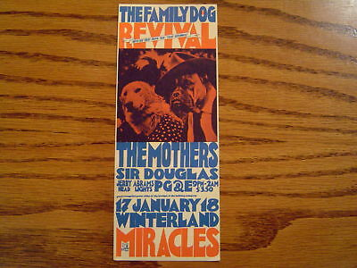 Family Dog Revival, Miracles, Mothers, Sir Douglas +