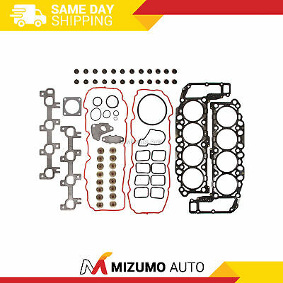 Head Gasket Set Fit 04-07 Dodge Jeep V8 4.7 SOHC 16V VIN J, N, P