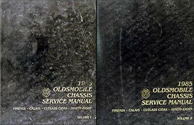 1985 olds repair shop manual oldsmobile firenza calais cutlass ciera 98  service