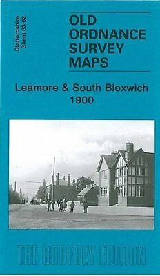 Old Ordnace Survey Map Of Leamore & South Bloxwich 1900