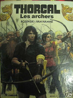 Thorgal Les archers T 9 Edition originale Rosinski
