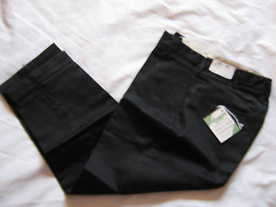 NOS VTG 50s BOYS TAPERED CUFF CHINOS PANTS  26x21 OLD KENTUCKY USA RAB
