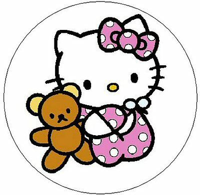 "~HELLO KITTY BABY GIRL~  1"" Sticker / Seal Labels!"