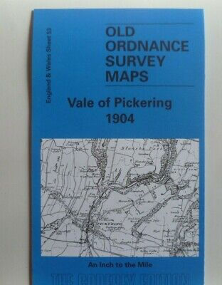 Old Ordnance Survey Map Helmsley Pickering Slingsby Malton District 1904 S53 New