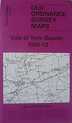 OLD ORDNANCE SURVEY MAPS YORK SELBY AREA & BUBWITH 1905-13 Sheet 71 Brand New