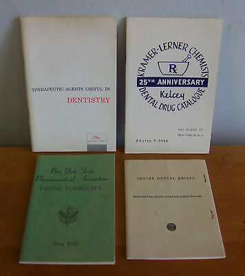 1950s Dental Publications Lot; Squibb Lilly Kelcey etc